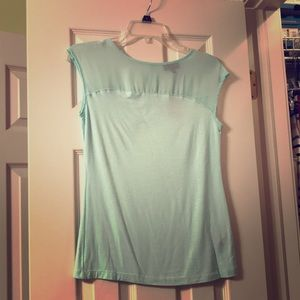 Mint top from The Limited XS